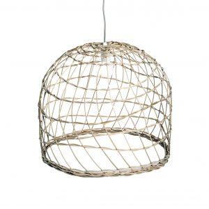 The Wicker lamp